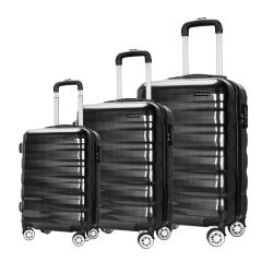 Cavoni Kenil 行李箱拉杆箱登机箱20、24、28寸静音万向轮旅行箱 20寸 黑色