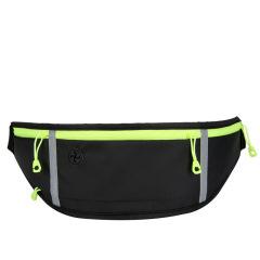 富美拉新款运动腰包跑步手机包防水隐形包男女户外装备腰带包 黑色D-F-11 7