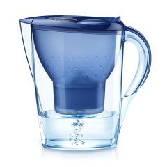 富美拉净水壶厨房家用净水器活性炭滤水壶滤水器B-FML-C301 3.5L一壶一芯 蓝色