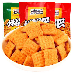 琥珀小米锅巴麻辣味/牛肉味180g  随机 随机