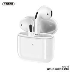 remax睿量TWS-10真无线蓝牙耳机苹果华为vivo小米oppo安卓入耳式超长待机续航运动跑步