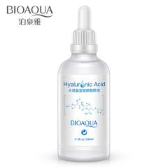 BIOAQUA水漾晶莹玻尿酸原液补水保湿滋润面部护理玻尿酸精华液 白色 100ml