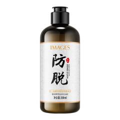 形象美防脱发洗发水 保湿滋养洗发液清洁清爽控油洗发露 棕色 300ml