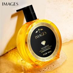 形象美氨基酸温和柔顺洗发水深层洁净滋润发丝改善毛躁洗发露 黄色 400ml