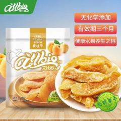 ALLBIO艾比欧黄桃干100g休闲零食果脯蜜饯水果干桃干健康食品小吃