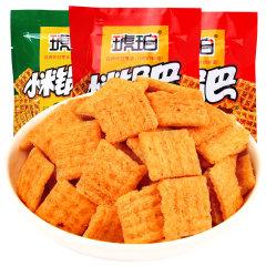 卡索食品琥珀小米锅巴180g*3包牛肉麻辣味随机发小吃休闲食品