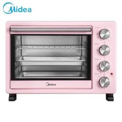 美的(Midea)家用多功能广域温控多档电烤箱 25升  PT25A0