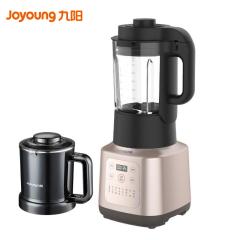 九阳(Joyoung)家用大容量可预约加热多功能破壁机豆浆料理机清洗双杯L18-P376 珍珠棕