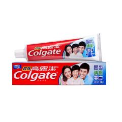 高露洁超强牙膏固齿清新美白140g*3