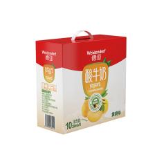 德亚 黄桃味风味酸奶 200ml*10  礼盒装
