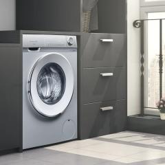 SIEMENS/西门子 10kg智能除渍家用全自动滚筒洗衣机WB45VM080W