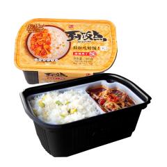 紫山到饭点自热饭系列 紫山海南鸡肉自热拌饭320g*4盒