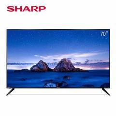 夏普(SHARP)4T-M70M6DA 70英寸 日本原装面板 4K超高清音乐电视