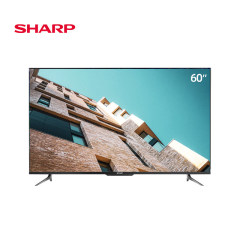 夏普(SHARP)4T-C60D7DA 60英寸 全面屏4K超高清日本原装双线WIFI 2G+64G