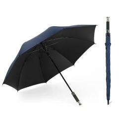 悟空豪车雨伞 晴雨两用伞 三折双层 黑色