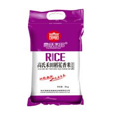 高氏禾田稻花香米 5kg  (编织袋紫包装)