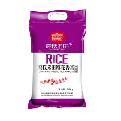 高氏禾田稻花香米 10kg  (编织袋紫包装)