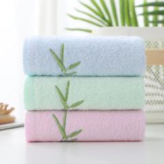 天琴家纺 素色毛巾 竹纤维素色毛巾