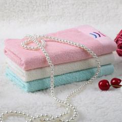 天琴家纺  毛巾  竹纤维绣花毛巾