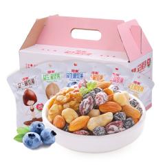 雅集小益生菌坚果混合坚果750g装孕妇儿童零食大礼包好礼盒装 益生菌每日坚果750g