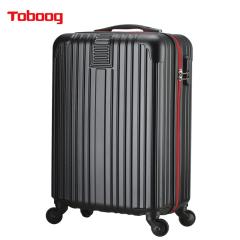 TOBOOG/途帮万向轮时尚男女拉杆箱上学出游商务旅行箱登机箱 20寸 黑色