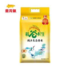 金龙鱼稻谷鲜生鹤乡生态香米2.5KG 2.5kg