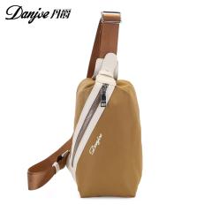 丹爵(DANJUE)男士胸腰包单肩斜挎时尚运动小包出行潮款男士背包8037 D8037 黄色