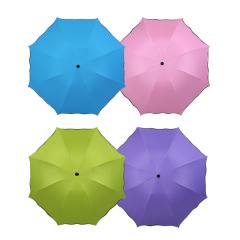 美丽妮8k遇水开花晴雨伞天蓝色 4色可选 8骨 蓝色